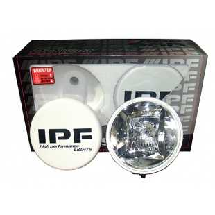 IPF HYBRID LIGHT SET ROUND 55W LUZ CORTA+LARGA REDONDO 55W