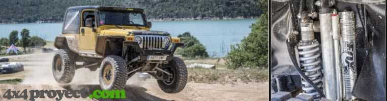 Wrangler TJK suspension frontal independiente